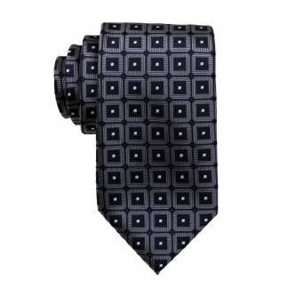 Charcoal Mens Tie Regular