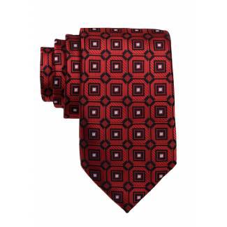 Red Mens Tie Regular