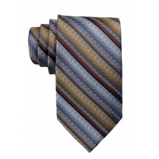 Gray Mens Tie Regular