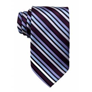 Purple Mens Tie Regular