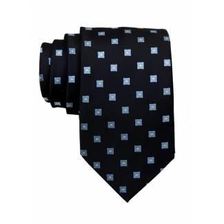 Black Mens Tie Regular