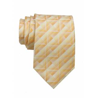 Yellow Mens Tie Regular