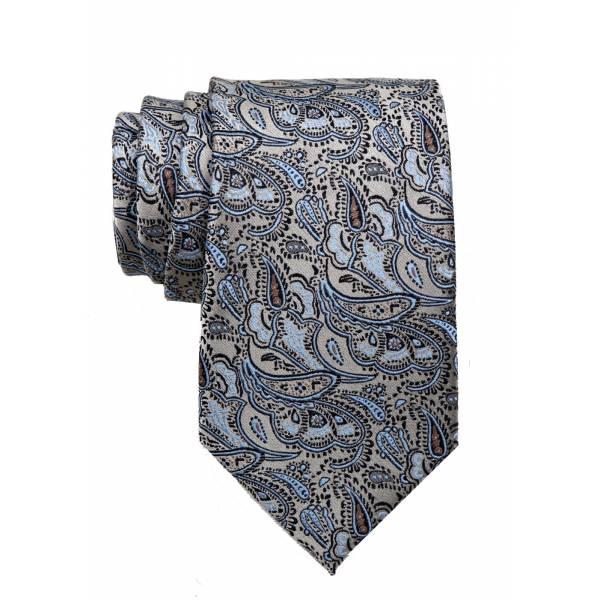 Taupe Mens Tie Regular