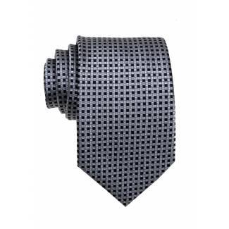 Gray Mens Tie Regular