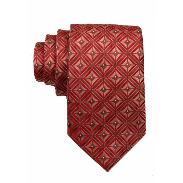 Red Mens Tie Regular