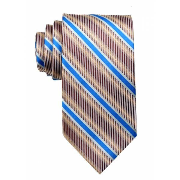 Gold Mens Tie Regular