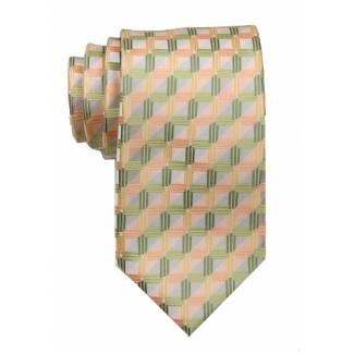 Peach Mens Tie Regular