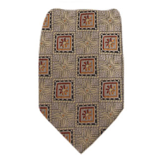 Gold Mens Tie Regular