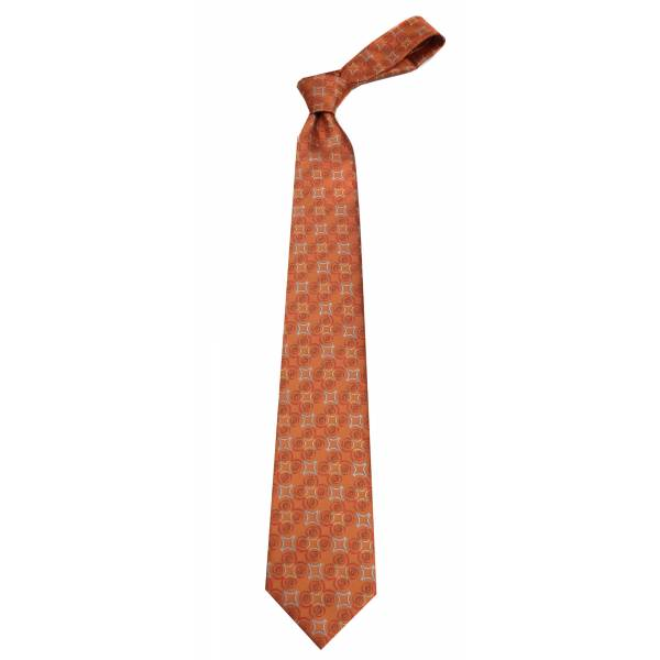 Orange Mens Tie Regular