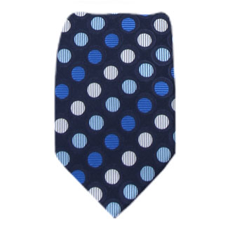 Navy Mens Tie Regular