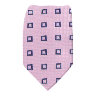 Pink Mens Tie Regular