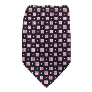 Pink Mens Tie Regular