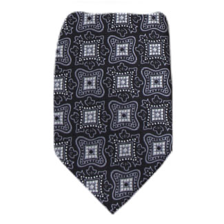 Black Mens XL Tie Ties