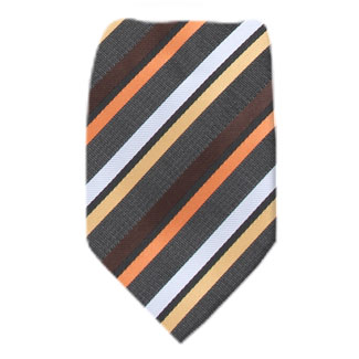 Charcoal Mens XL Tie Ties