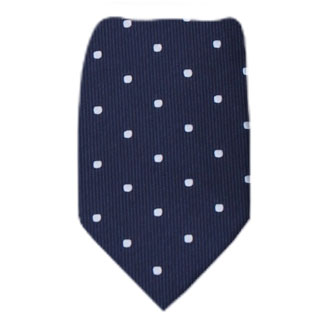 Navy Extra Long Zipper Tie Zipper Ties