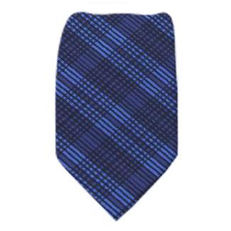 Navy Extra Long Zipper Tie Zipper Ties