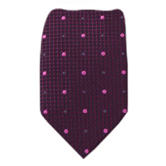 Magenta Extra Long Zipper Tie Zipper Ties