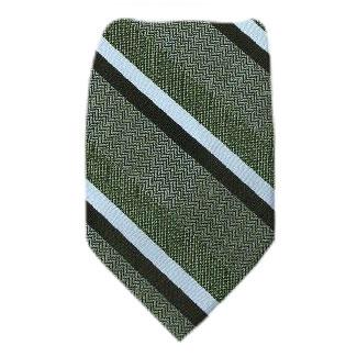 Olive Extra Long Zipper Tie Zipper Ties
