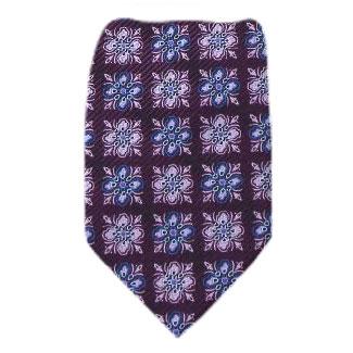 Plum Extra Long Zipper Tie Zipper Ties