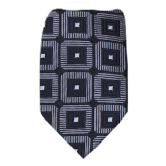 Charcoal Zipper Tie Regular Length Zipper Tie