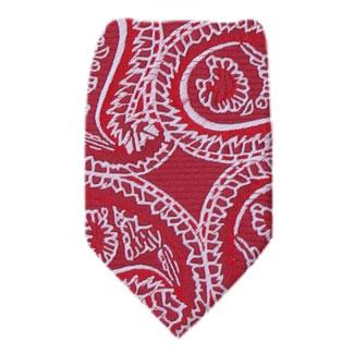 Red Zipper Tie Regular Length Zipper Tie