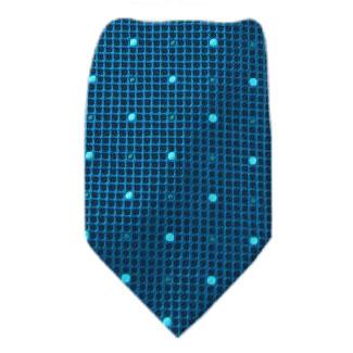 Teal Zipper Tie Regular Length Zipper Tie