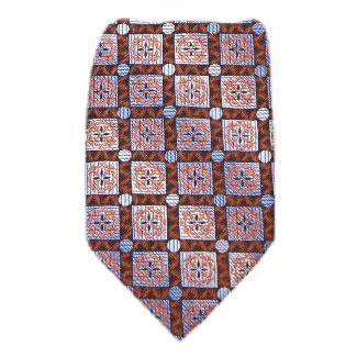 Orange Zipper Tie Regular Length Zipper Tie