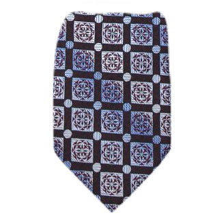 Chocolate Zipper Tie Regular Length Zipper Tie