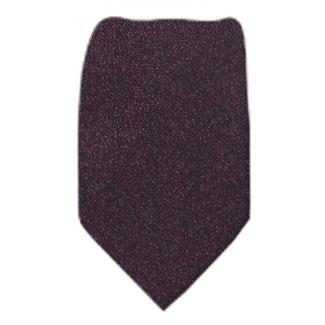 Plum Zipper Tie Regular Length Zipper Tie