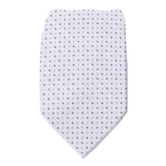 Silver Zipper Tie Regular Length Zipper Tie