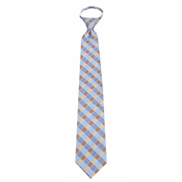 Sky Mens Zipper Tie Regular Length Zipper Tie