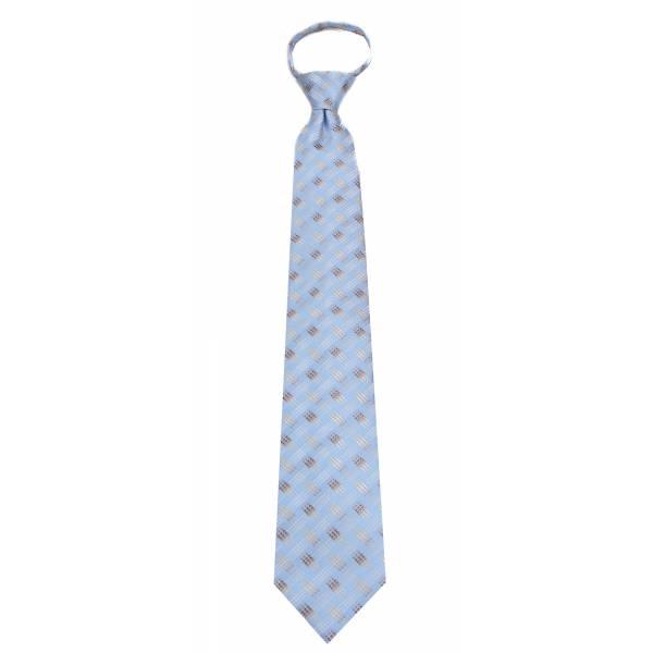 Sky Mens Zipper Tie Regular Length Zipper Tie