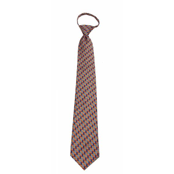 Mens Zipper Tie Regular Length Zipper Tie