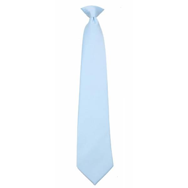 Boys Sky Clip on Tie Clip On Ties