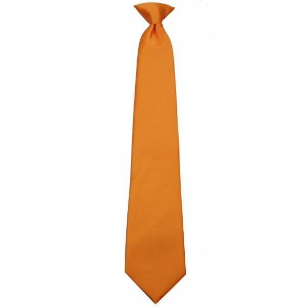 Bronze Boys Clip on Tie Clip On Ties