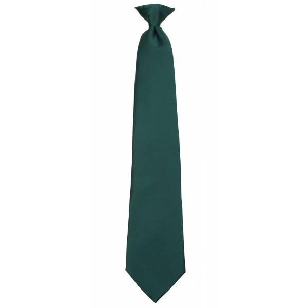 Boys Hunter Green Clip on Tie Clip On Ties