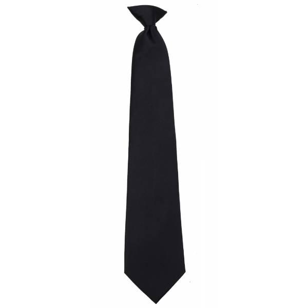 Boys Black Clip on Tie Clip On Ties