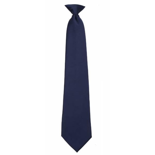 Boys Navy Clip on Tie Clip On Ties