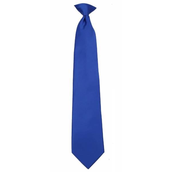 Boys Royal Clip on Tie Clip On Ties