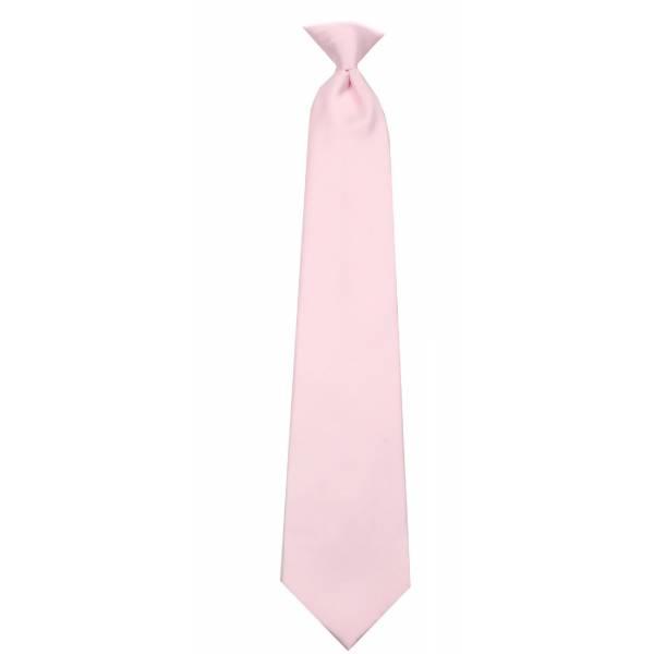 Boys Pink Clip on Tie Clip On Ties