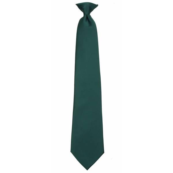 Hunter Green XL Clip on Tie Clip On Ties