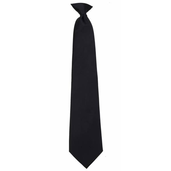 Black Clip on Tie Clip On Ties