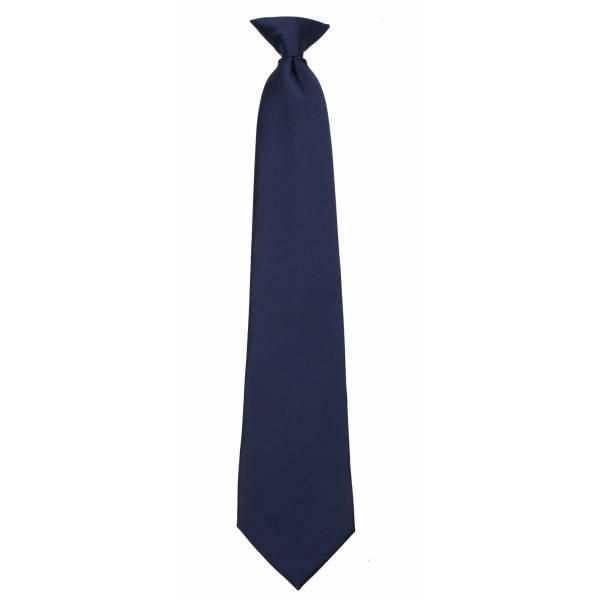Navy Clip on Tie Clip On Ties