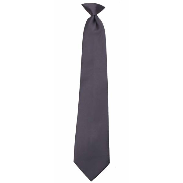 Charcoal Clip on Tie Clip On Ties