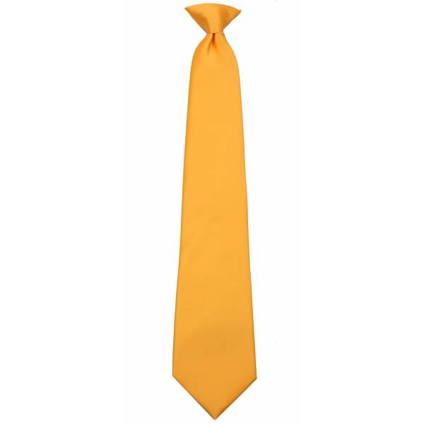 Canary Yellow Clip on Tie Clip On Ties