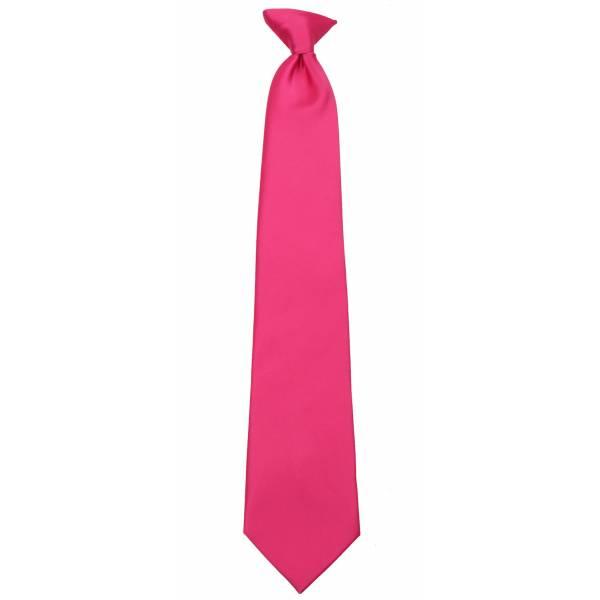 Fuschsia Pink XL Clip on Tie Clip On Ties