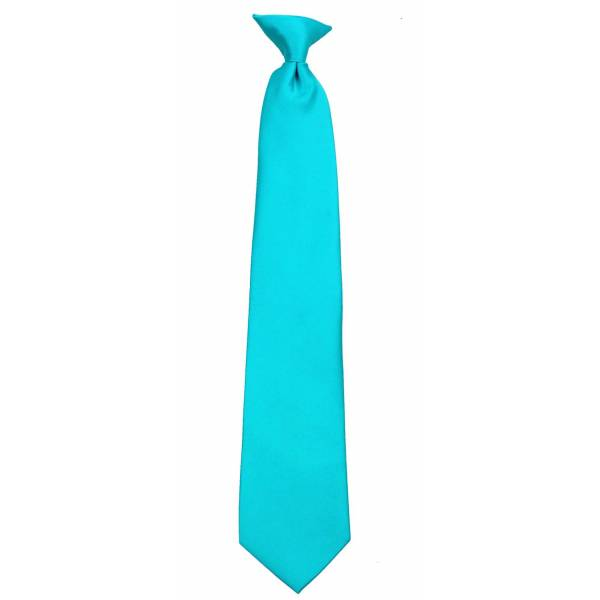Turquoise Clip on Tie Mens Clip On Ties