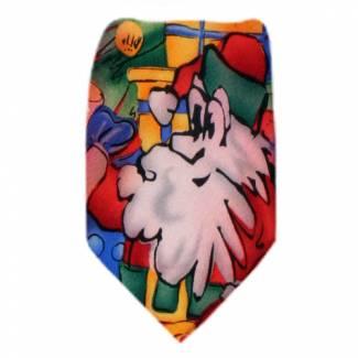 Jerry Garcia Christmas Tie Regular Length
