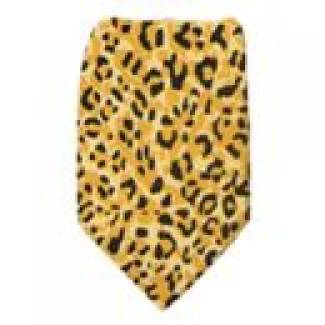 Boys Cheetah Tie Ties