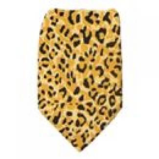 Boys Cheetah Tie Ties